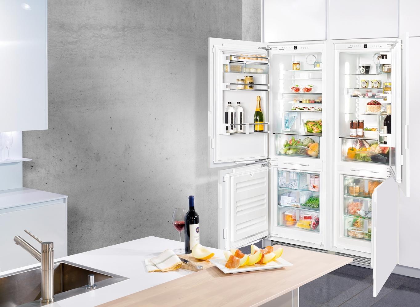 Встраиваемый холодильник LIEBHERR SBS 66I2 Premium NoFrost - 3