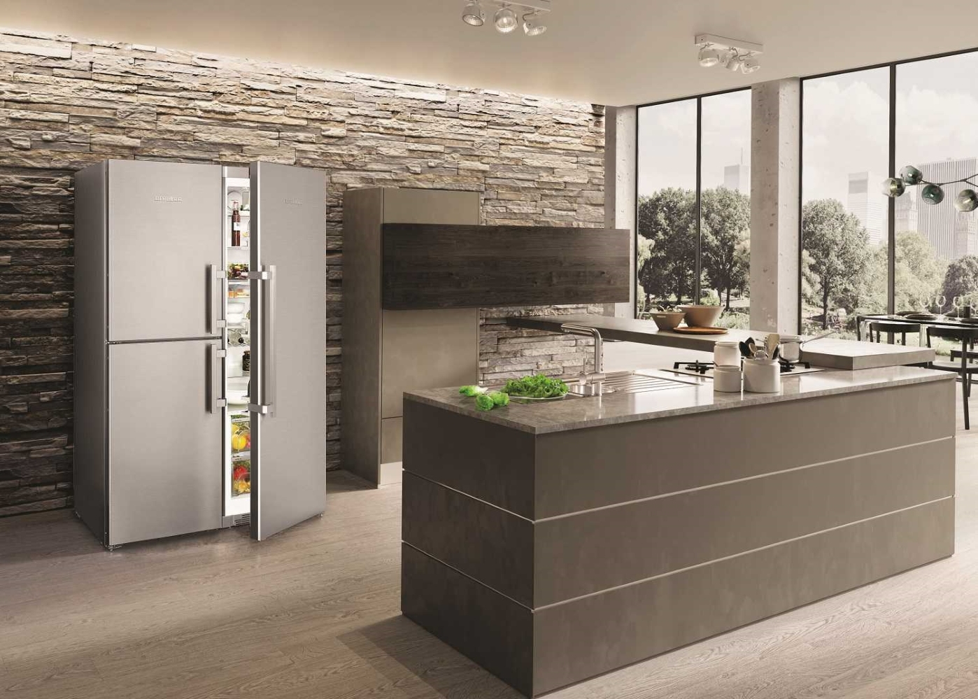 Холодильник LIEBHERR SBSes 8473 Premium BioFresh NoFrost - 2