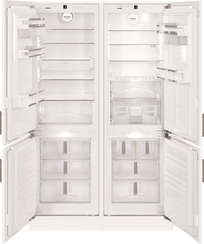 Встраиваемый холодильник LIEBHERR SBS 66I3 Premium BioFresh NoFrost - 2