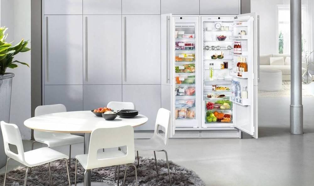 Встраиваемый холодильник LIEBHERR SBS 70I2 Comfort NoFrost - 3