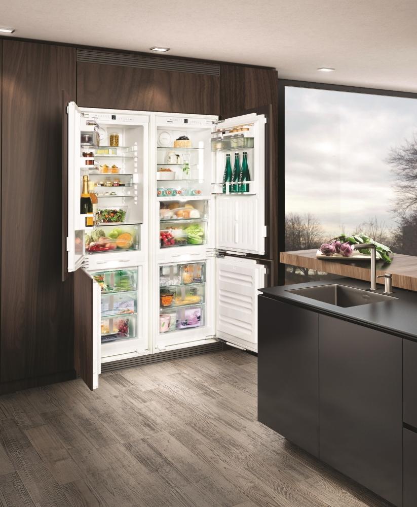 Встраиваемый холодильник LIEBHERR SBS 66I3 Premium BioFresh NoFrost - 3